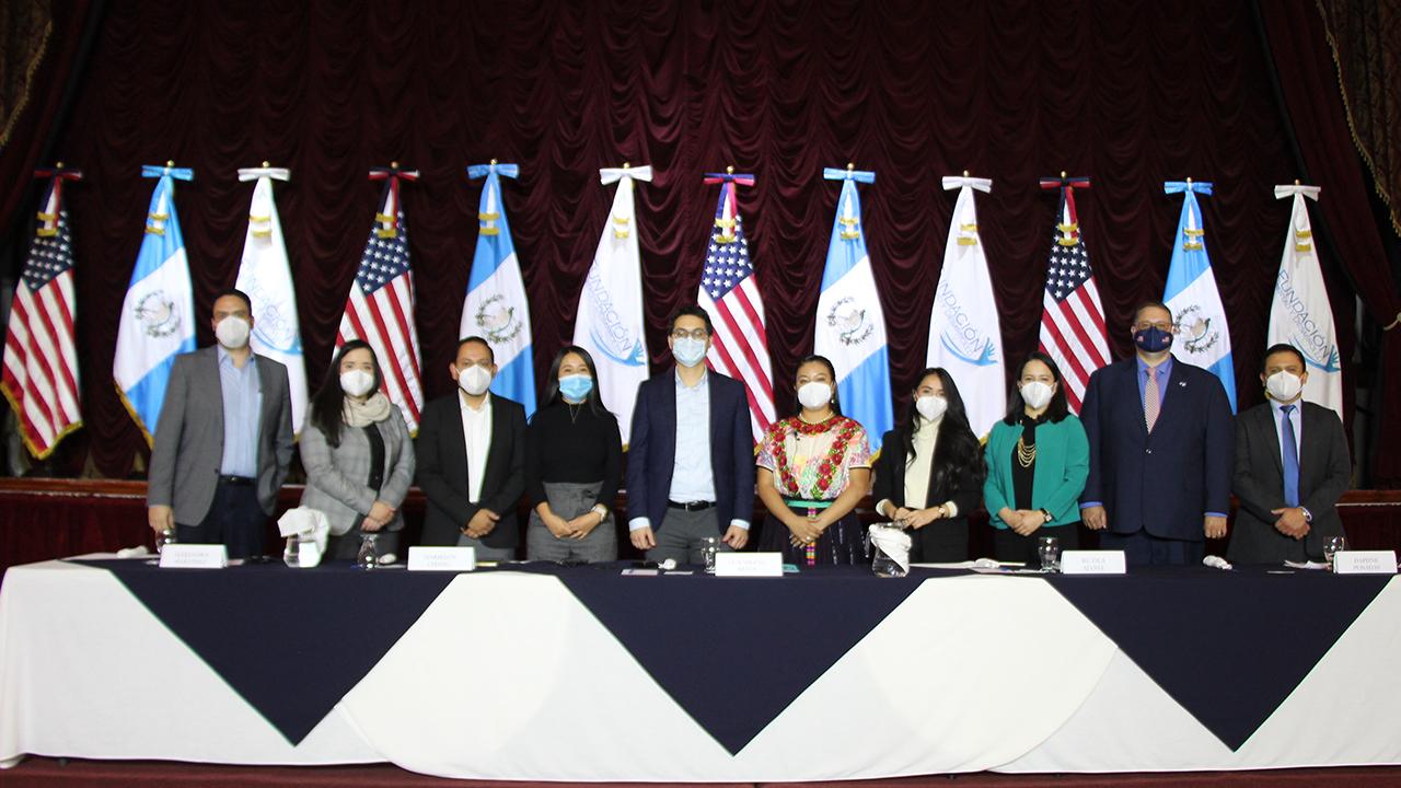 Fundación Libertad y Desarrollo realiza evento en Quetzaltenango con funcionarios de la Embajada de EEUU en Guatemala